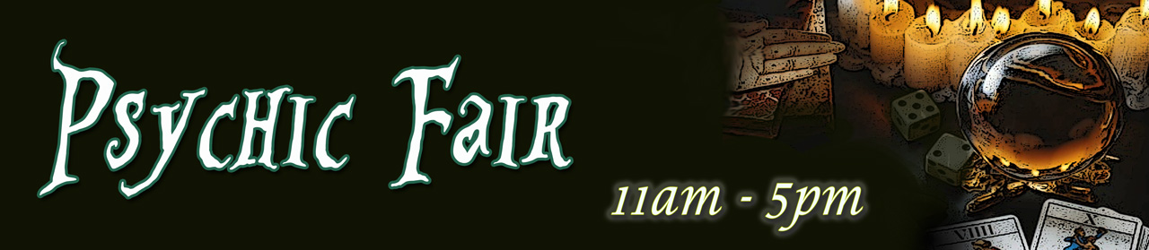 Psychic Fair 11 am to 5 pm